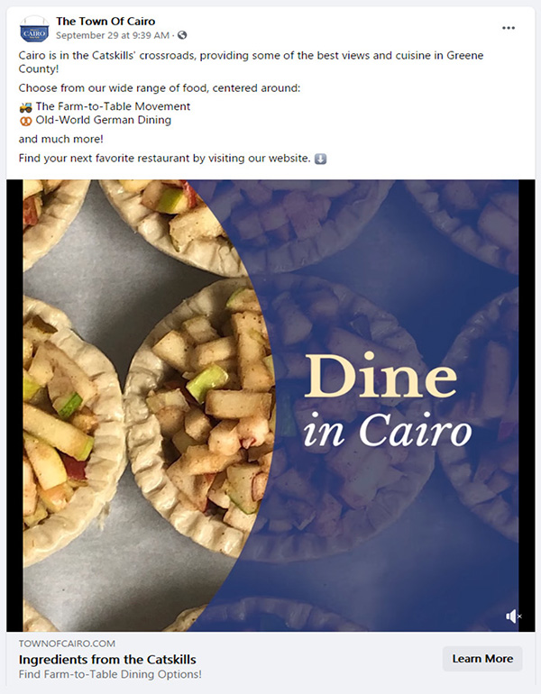 Dine in Cairo