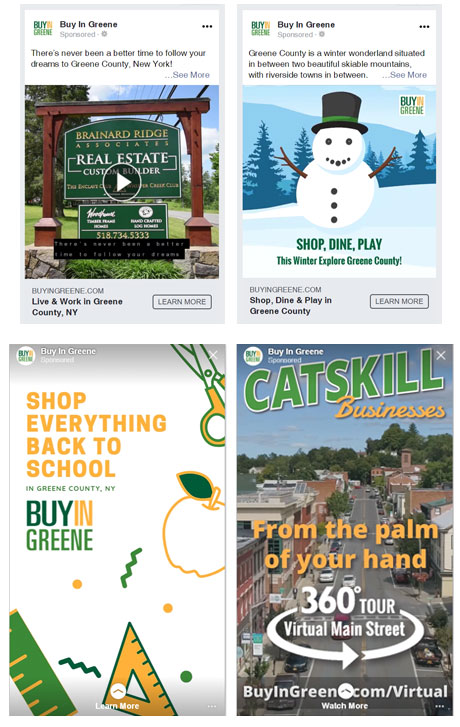 Buy Local Campaign Social Ads
