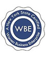 WBE - A New York State Certified Women Business Enterprise