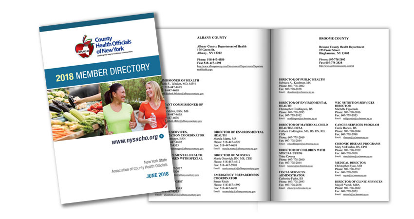 Image of NYSACHO's print directory