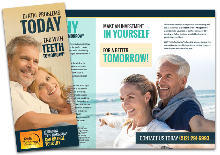 Image of the brochure for Teeth Tomorrow