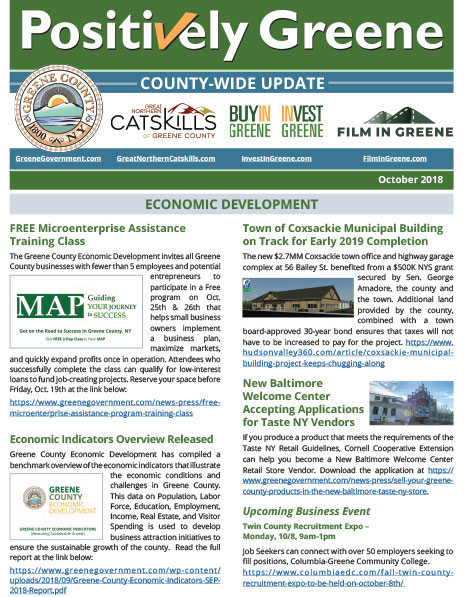 Monthly newsletter focuses on the many positive County programs.