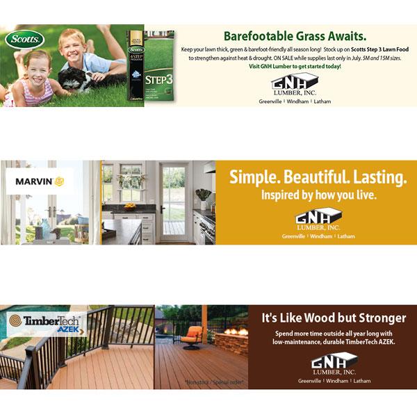 Greenville Pioneer Ads