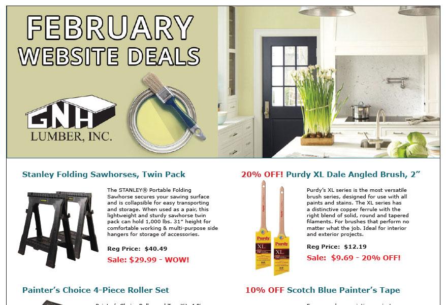 GNH Website Sales Flyer