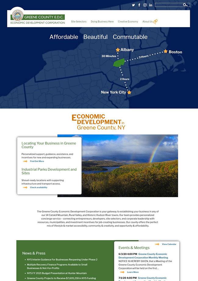 Greene County EDC Home Page