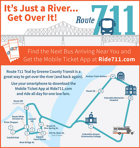 ad for Ride 711