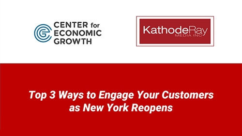 Top 3 Ways to Engage Your Customers as New York Reopens Image