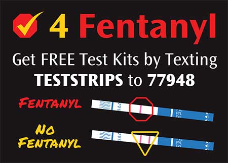 Get FREE Test Strips Palm Card - Front